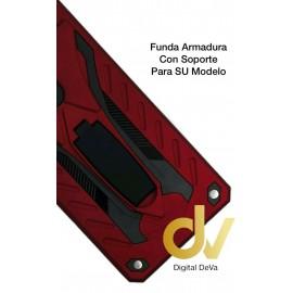REDMI Note 9S / Note 9 Pro XIAOMI FUNDA Armadura Con Soporte ROJO