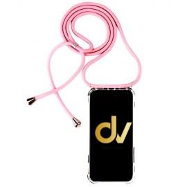 Redmi Note 9S / Note 9 Pro XIAOMI FUNDA Con Cordon Rosa Dorado