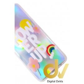 A11 Samsung Funda 6D Silver Shine Power Up