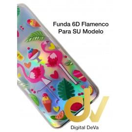 A01 SAMSUNG Funda 6D Silver Shine FLAMENCOS