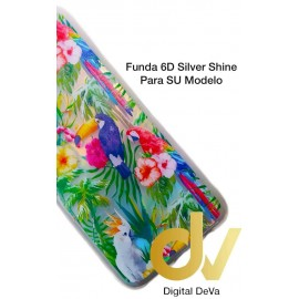 A01 SAMSUNG FUNDA 6D Silver Shine AVES