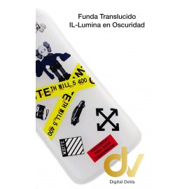 DV S20 PLUS SAMSUNG FUNDA TRANSLUCIDO JUST DO IT