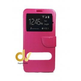 P9 Lite Huawei Funda Libro 2 Ventanas Rosa