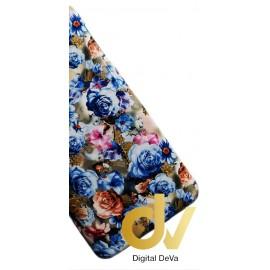 P9 Lite Huawei Funda Flores Azul