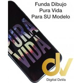 DV Y7 2018 HUAWEI FUNDA DIBUJO RELIEVE 5D PURA VIDA