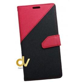 Y5 / Y6 2017 Huawei Funda Elegance Dos Tarjetas Rojo