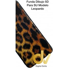 DV P30 HUAWEI FUNDA DIBUJO RELIEVE 5D PIEL LEOPARDO