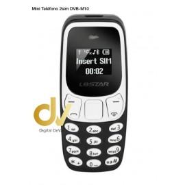 Mini Telefono 2Sim DVB-M10 Negro