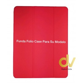 iPAD AIR 2/3/4 Rojo FUNDA Folio Case