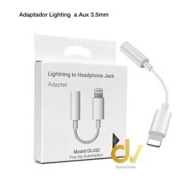 DV ADAPTADOR AUX 3.5MM A LIGHTNING POP UP GL-032