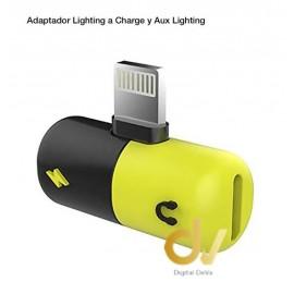 Adaptador Lighting iPhone Para Audio Y Carga