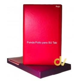 DV FUNDA FOLIO TAB T860 / T865 ROJO SAMSUNG