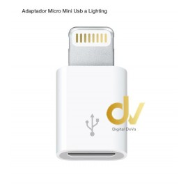 Adaptador V8 a LIGHTING Bulk Pack