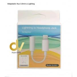Adaptador Aux 3.5MM A Lightning GL032-1