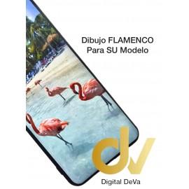 A01 SAMSUNG Funda Dibujo 5D FLAMENCOS en Playa