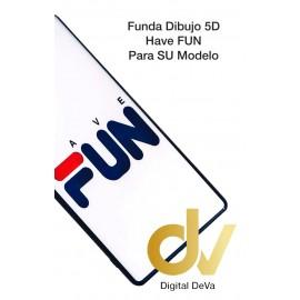 DV Psmart 2020 HUAWEI FUNDA Dibujo 5D FLORES Rojas