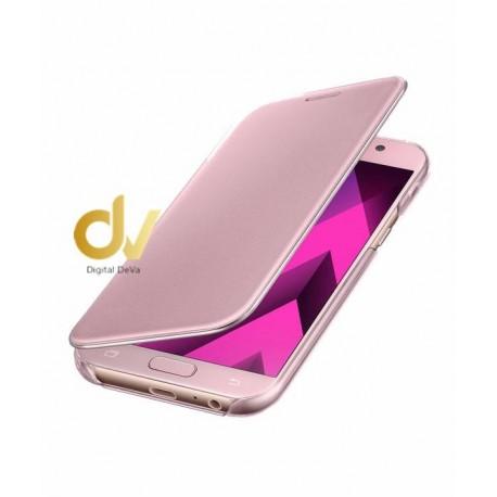 iPhone X / XS Funda FLIP Case Espejo ROSA