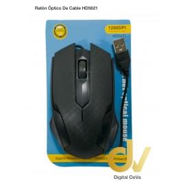 DV RATON OPTICO CON CABLE HD5621  NEGRO