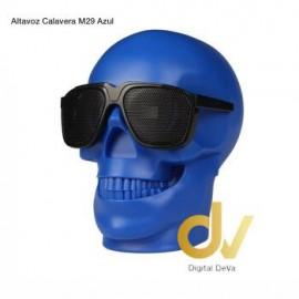 Altavoz Bluetooth Calavera M29 Azul