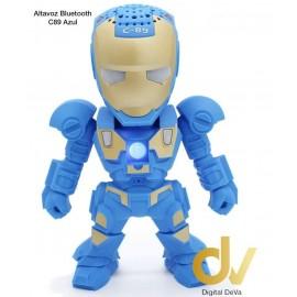 Altavoz C89 Hombre De Hierro Azul
