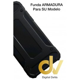 iPHONE X / XS FUNDA Armadura NEGRO