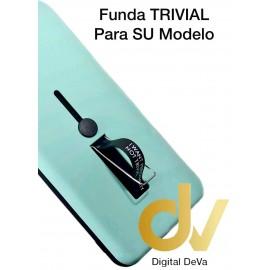 S9 Plus Samsung Funda Trivial 2 en 1 AZUL TURQUES