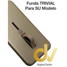 DV Y9 2019 HUAWEI Funda TRIVIAL 2 en 1 DORADO