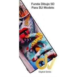 DV A20E SAMSUNG FUNDA DIBUJO Relieve TORO ROJO
