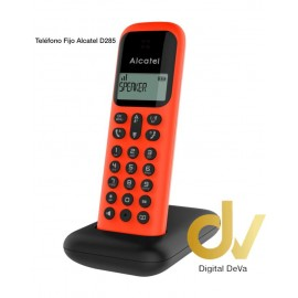 Telefono Fijo Alcatel D285 ROJO