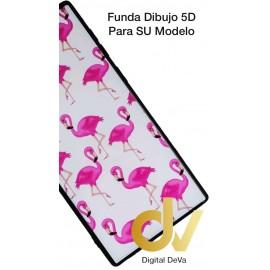 DV A20E SAMSUNG FUNDA DIBUJO RELIEVE 5D FLAMENCOS