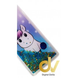 DV FUNDA AGUA PURPURINA IPHONE XR UNICORNIO