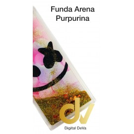 A50 SAMSUNG FUNDA Agua Purpurina MASMELO