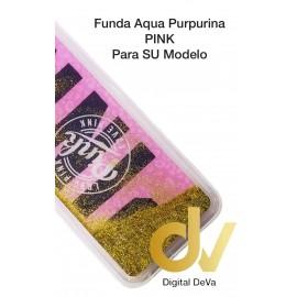 J4 2018 SAMSUNG FUNDA Agua Purpurina PINK