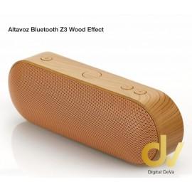 Altavoz Bluetooth Z3 Madera