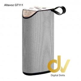 Altavoz Bluetooth GT-111 Gris