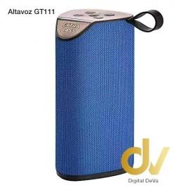 Altavoz Bluetooth GT-111 Azul