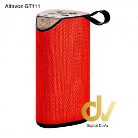 Altavoz Bluetooth GT-111 Rojo