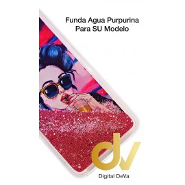 DV J4 PLUS  SAMSUNG FUNDA AGUA PURPURINA CHICA GAFAS