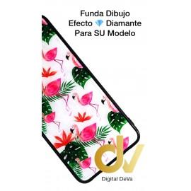 DV P20 LITE HUAWEI FUNDA DIBUJO DIAMOND FLAMINGOS