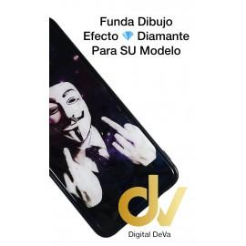 DV P20 LITE HUAWEI FUNDA DIBUJO DIAMOND MASCARA