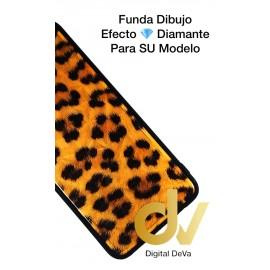 DV P20 LITE HUAWEI FUNDA DIBUJO DIAMOND PIEL LEOPARDO