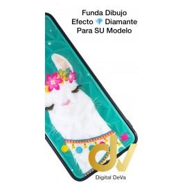 DV P20 LITE HUAWEI FUNDA DIBUJO DIAMOND ALPACA
