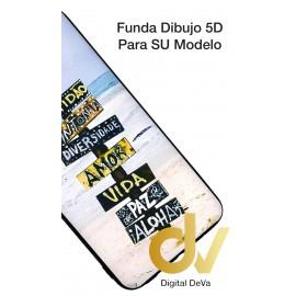 A40 SAMSUNG FUNDA Dibujo 5D AMOR VIDA PAZ