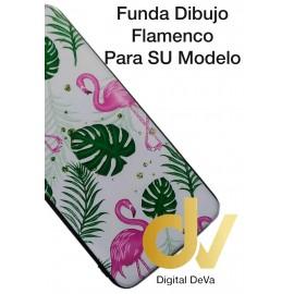 Y6 2019 HUAWEI FUNDA Dibujo 5D FLAMENCOS