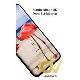 A10 Samsung Funda Dibujo 5D FLAMENCOS