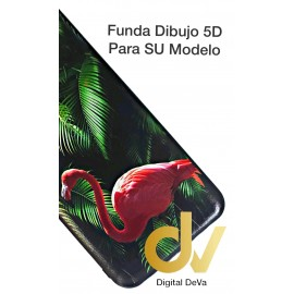 DV PSMART PLUS HUAWEI FUNDA DIBUJO RELIEVE 5D FLAMINGO