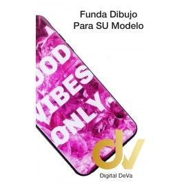 iPHONE Xs Max FUNDA Dibujo 5D GOOD VIBES ONLY
