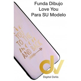 A10 Samsung Funda Dibujo 5D I LOVE YOU