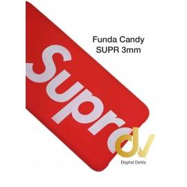 iPHONE X / XS FUNDA Candy SUPR ROJO