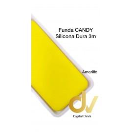 Redmi 9 XIAOMI Funda Silicona Candy Dura 3mm Amarillo